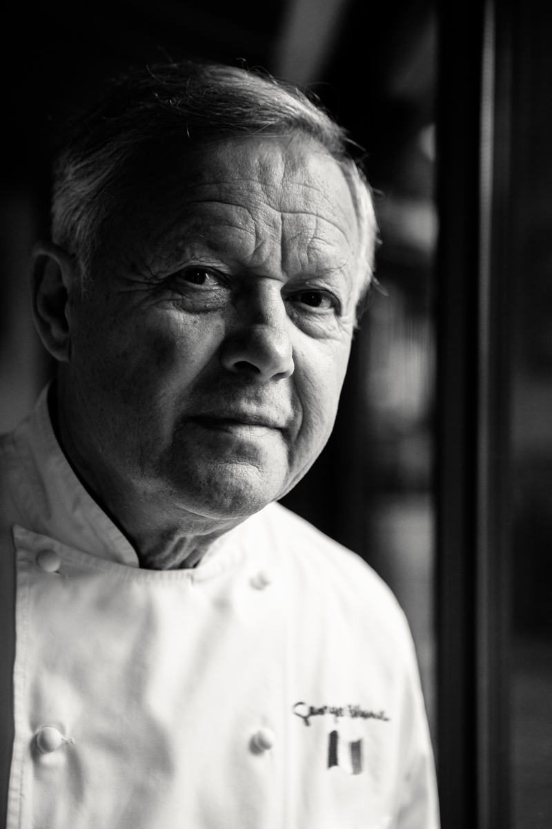 photo gastronomie chef Georges Blanc