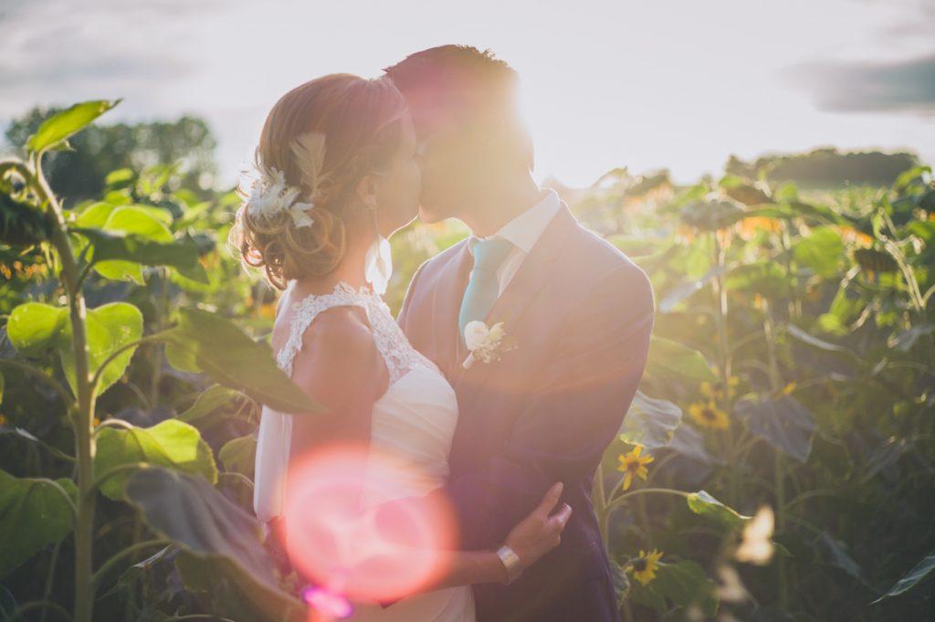Photographe de mariage à Dijon en Bourgogne. Reportage de mariage au leica