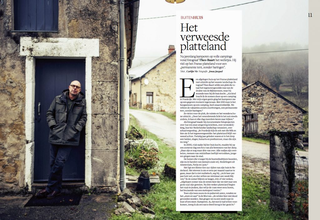 Photographe de portrait lifestyle à Dijon en Bourgogne. Burgundy photographer for NRC magazine. Ducth
